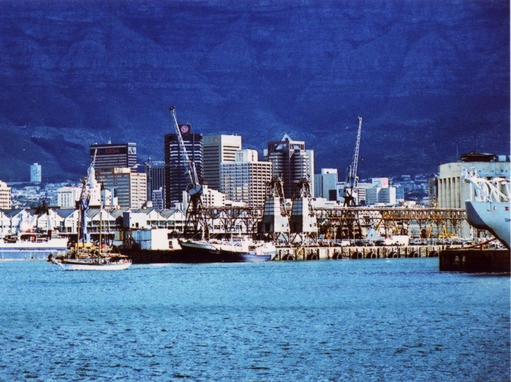 Cape Town Harbour by Robin Sprong.