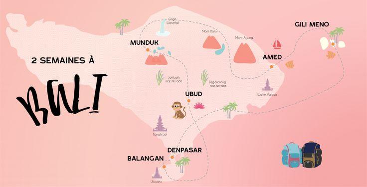 Itinéraire 15 jours à Bali - Indonésie