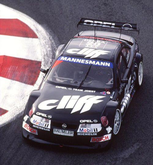 JJ Lehto, Opel Calibra, Magny Cours DTMITC 1995 #ITC #DTM #Opel #Cliff #MagnyCours #Calibra #France