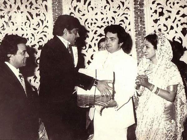 Rishi Kapoor & Neetu Singh wedding