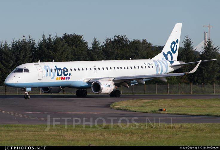 High quality photo of G-FBEH (CN: 19000128) Flybe Embraer 190-200LR by Ian McGregor