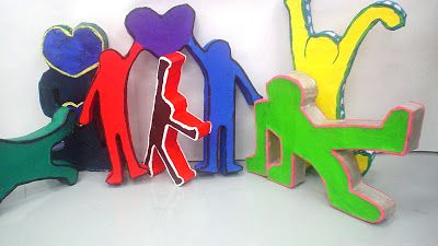 More Keith Haring Sculptures   Lessons from the K-12 Art Room