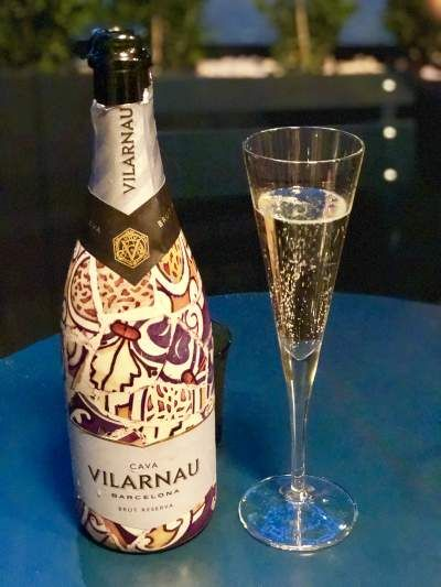 5bd4000f226fe Cava Vilarnau Barcelona Brut Reserva at Beso London - light and subtle with  fruity aromas. The grapes in the cava comprise of 50% Macabeo