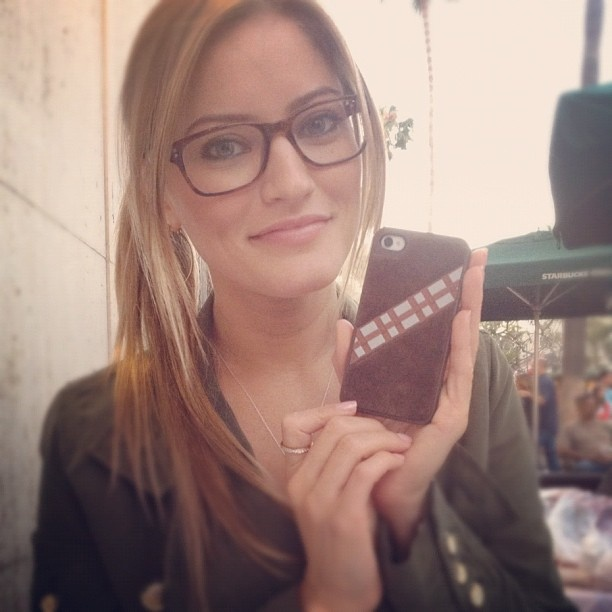 Why yes, my iPhone case is a furry Chewbacca by ijustine
