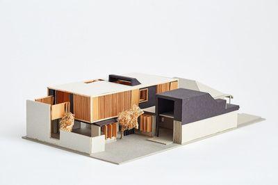 Architectural Model - Orient Street House, South Fremantle. Philip Stejskal Architecture