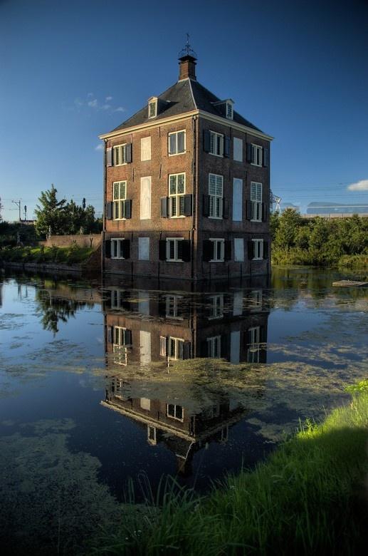 Hofwijck Castle Voorburg. The Netherlands