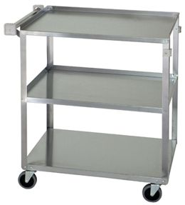 Stainless Steel Carts. Ideal for transport and storage and continuous transporting over even floor surfaces.
