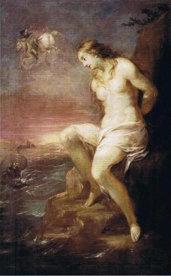 Michael Leopold Willmann - Osvobození Andromedy (1682, NG)