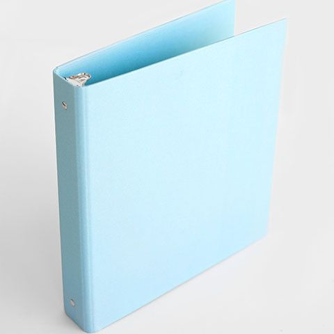 Looking for the perfect place to keep your to do lists, printables, menus and recipes? This soft aqua binder is the perfect companion to keep everything in one place. - durable and cute AQUA 1-inch, 3