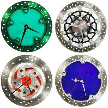 reCycle Clocks: Bike Parts Reborn As Clocks
