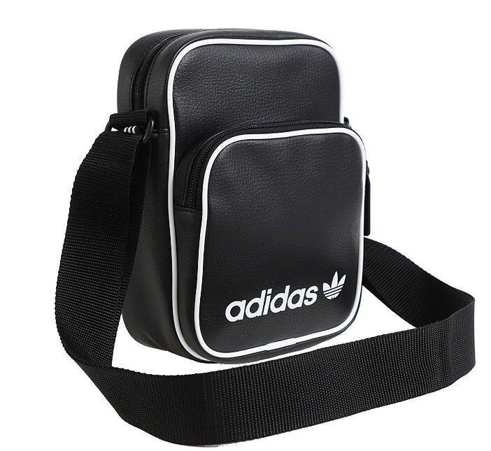 28d4e95e2f adidas Originals Mini Vintage Cross Bag Black Trefoil School Bag Travel  DH1006  adidas  MessengerShoulderBag