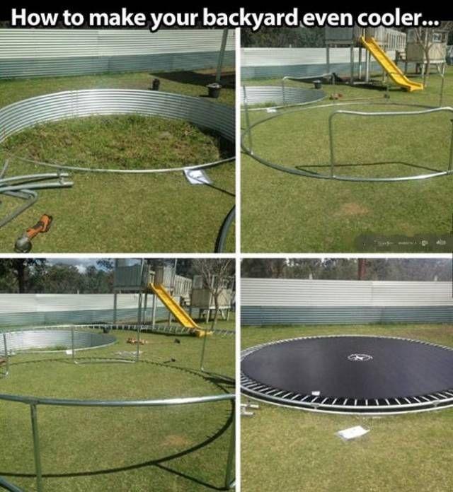 Next level trampolining