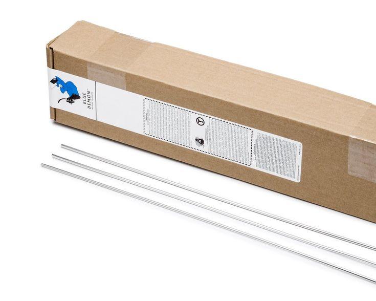 "Blue Demon  ER4043 X 1/16"" X 36"" X 10LB Box general purpose aluminum TIG welding rod"