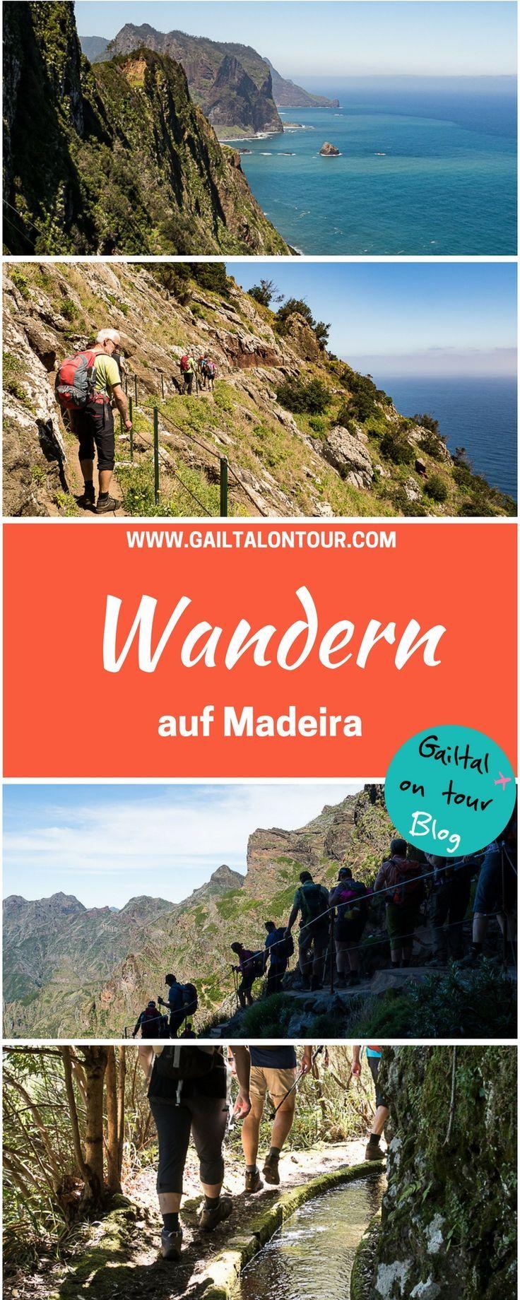 Reisekosten für eine organisierte Wanderreise nach Madeira. Kostenaufstellung für Hotel, Wanderprogramm mit Wanderführer und Flug