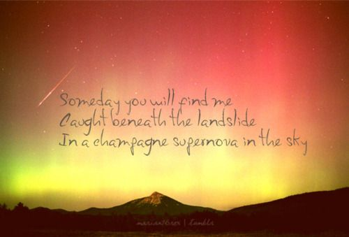 champagne supernova oasis - photo #8