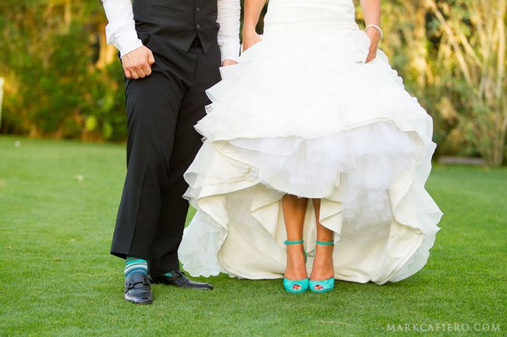 tiffany blue wedding shoes are a must for our big day!