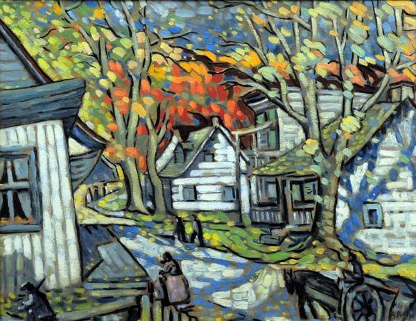 Falling Leaves (c. 1937) - Marc-Aurèle Fortin