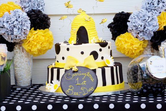 Adorable Baby Bumble Bee Party Hostess With The Mostess 79