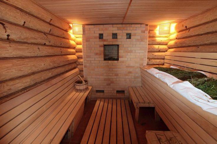 Дизайн кирпичной бани