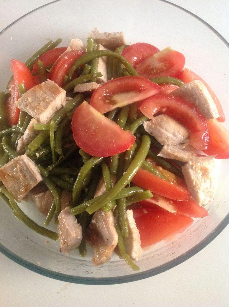 Insalata fredda - Tacchino, fagiolini,pomodori