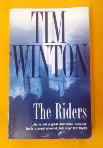 The-Riders-by-Tim-Winton-FREE-AUS-POST-good-used-condition-paperback-2000