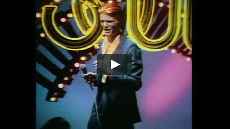 """""""I'm very drunk in this"""" David Bowie told Russell Harty in 1975 referring to his Soul Train TV appearance. """"I was very nervous so I had a couple…"""