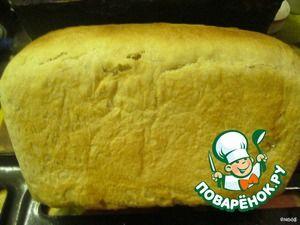 Рецепт: Американский бутербродный хлеб