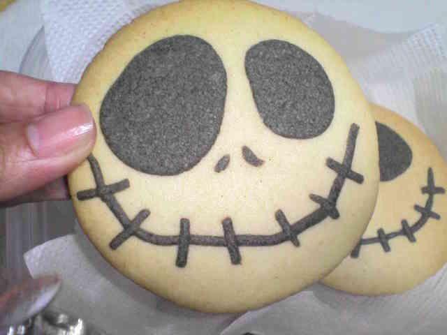 ハロウィン大好き!ジャックのクッキーの画像
