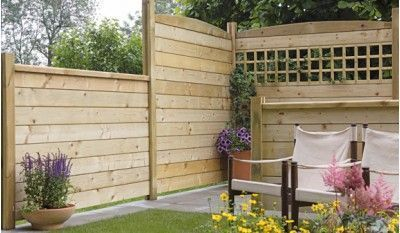 Der Lärmschutzzaun aus 7 modularen Bauteilen zeichnet sich durch …   – Garten… – Selber Machen