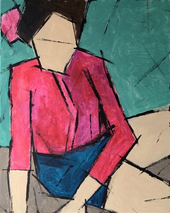 "UGallery.com | Model by Tanya Grabkova |  acrylic painting | 30"" h x 24"" w |"