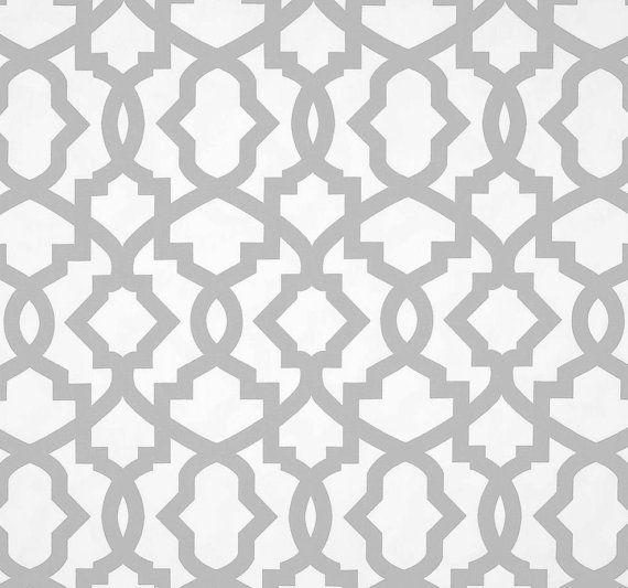 modern drapes grey geometric curtain panels gray lattice window curtains window treatments
