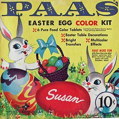 I loved coloring eggs with PAAS Easter Egg Dye...