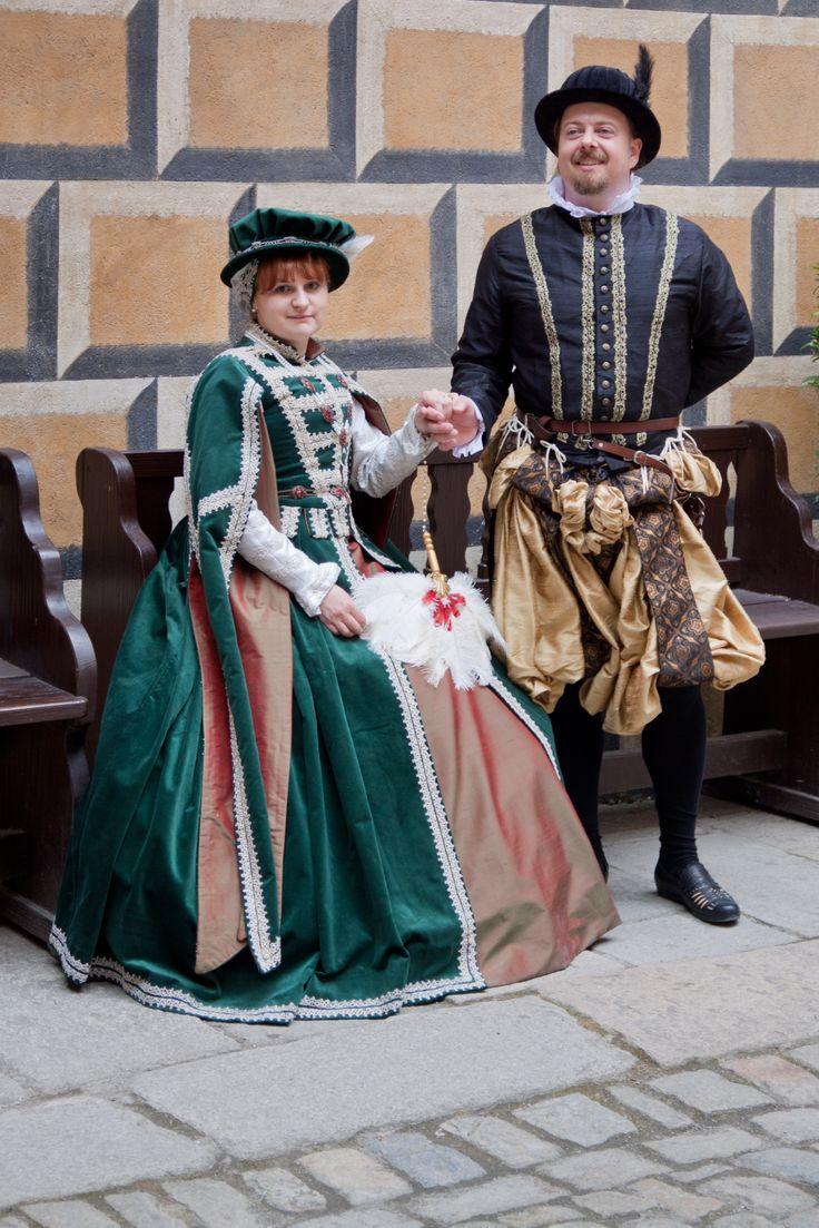 Kostýmy inspirované renesancí