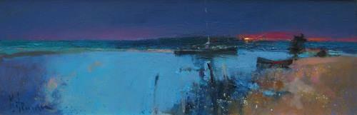 Water Night by Peter Wileman PPROI RSMA EAGMA FRSA