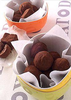 ローカロリーのトリュフ  http://www.yamasa.com/recipes/899/