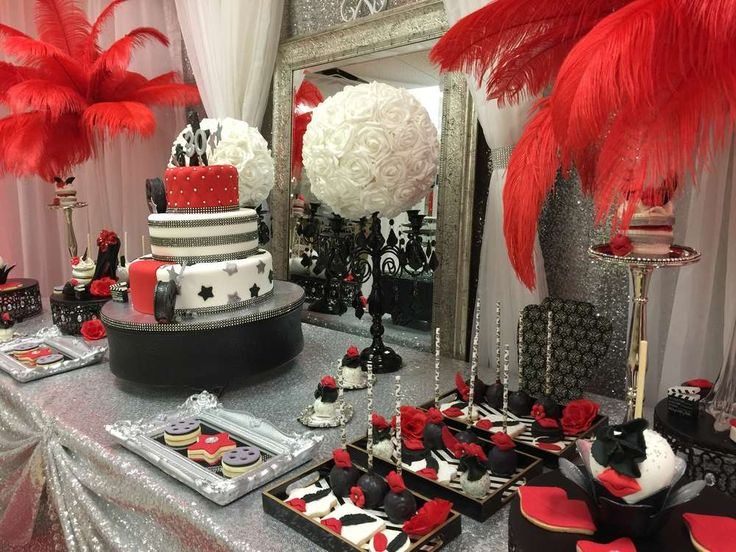 Superior Hollywood Theme Decoration Ideas Part - 11: Hollywood Birthday Party Ideas