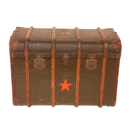 Vintage Brussels Circus Trunk   New Master Suite   Home ...