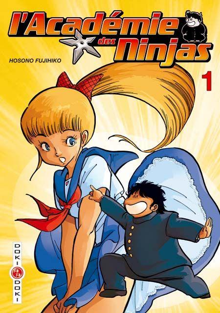 """Petit, rondouillard, morfale et obsédé, Nikumaru (signifiant """"boulette de viande"""") est néanmoins expert du ninjutsu. Fort étrangement, Mako, son amie d'enfance et la plus belle fille de l'académie, se trouve être follement amoureuse de lui. Autour de ce duo de choc se déchaîne un ouragan de catastrophes et de péripéties hilarantes à l'académie des ninjas. Vous l'avez découverte hier en dessin animé, retrouvez aujourd'hui l'école la plus hilarante du Japon en manga !"""