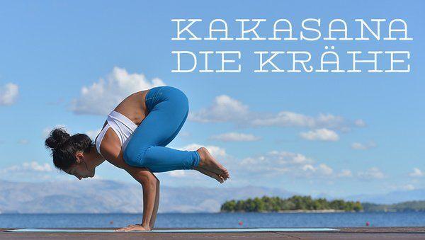 Asana des Monats: Kakasana – die Krähe – Lorana10