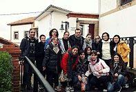 Fin de semana de convivencia y formación en Lastres (Asturias) con el curso de monitor de tiempo libre de Motiva Actividades (Oct-Dic 2013)