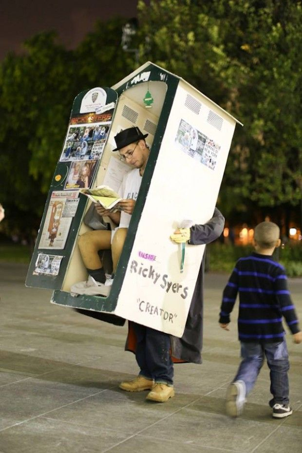 haha funny costume