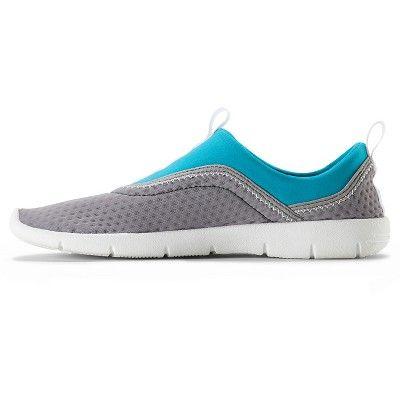 Speedo Adult Women's Aquaskimmer Water Shoes - Blue/Gray (Medium)