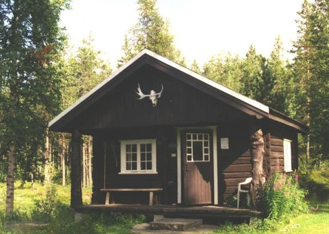 One of the Large Cabins, originally built in the 1500's