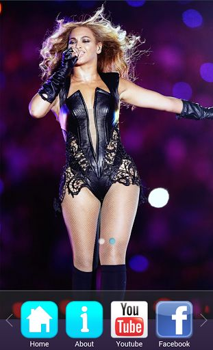 Beyonce Songs & Music videosAre you a Beyonce Fan? Install for FREE this application with all the lyrics of your favorite singer. All the lyrics of all her albums are in this application for your Android device. Review them again and again while listening to her music, take them with you wherever you go!In this application you can find the following: - See all and videos of the top 10 songs. - Read her Bio. - Read her tweets as they come on twitter - Read Tweets of other...