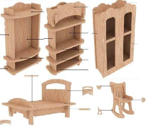 Las 25 mejores ideas sobre muebles para maquetas en - Muebles de papel ...