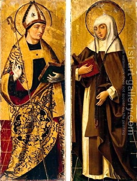 St. Monica, Mother of Augustine She is a wonderful example of trusting in God and never giving up her praying requests.