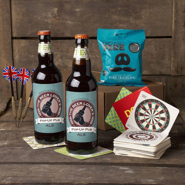 the 'pop up pub' beer hamper by whisk hampers | notonthehighstreet.com