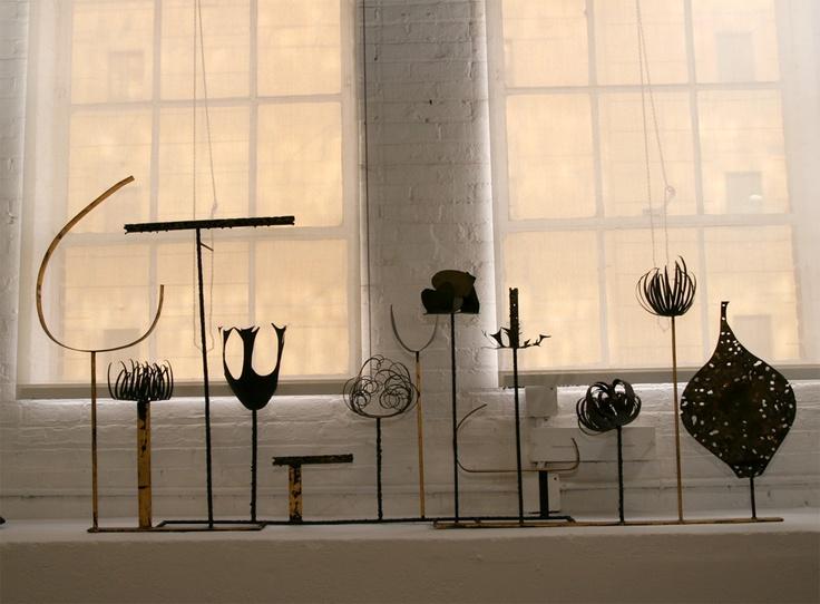 Paul Evans sculpture.