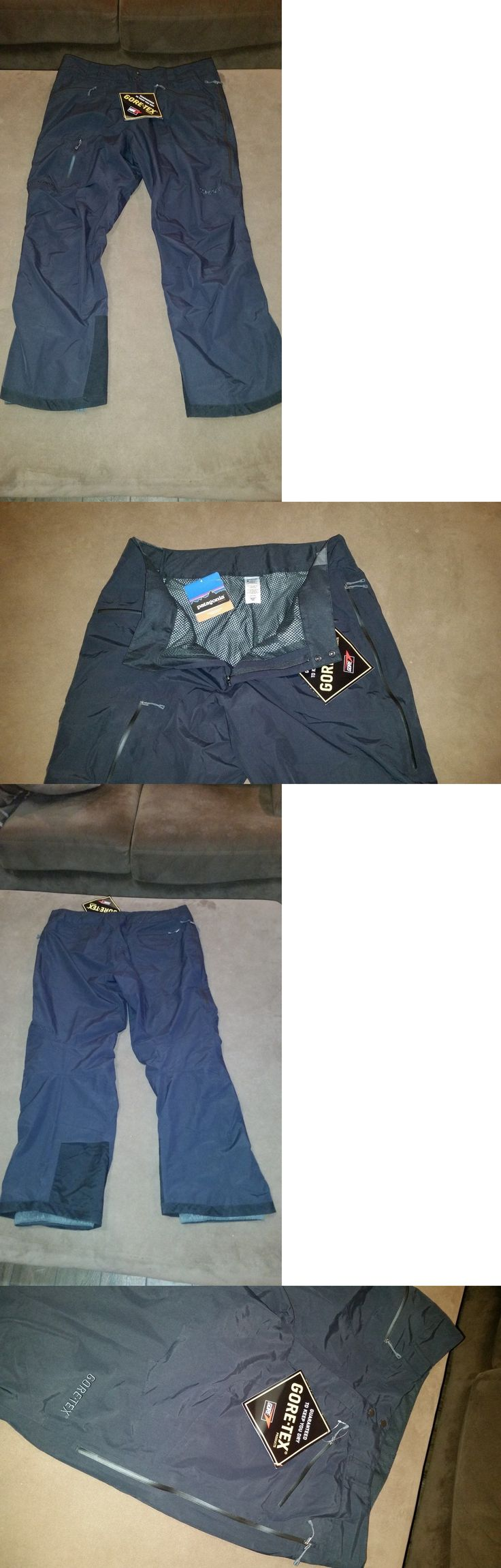 Snow Pants and Bibs 36261: Nwt Patagonia Mens 2 Layer Front Country Uniform Ski Snow Pants Black Sz Xxl -> BUY IT NOW ONLY: $90 on eBay!