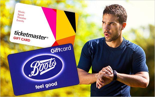 Enter to win a Garmin running watch, a £200 Ticketmaster gift card, £150 Boots vouchers and a Braun Series 3 shaver